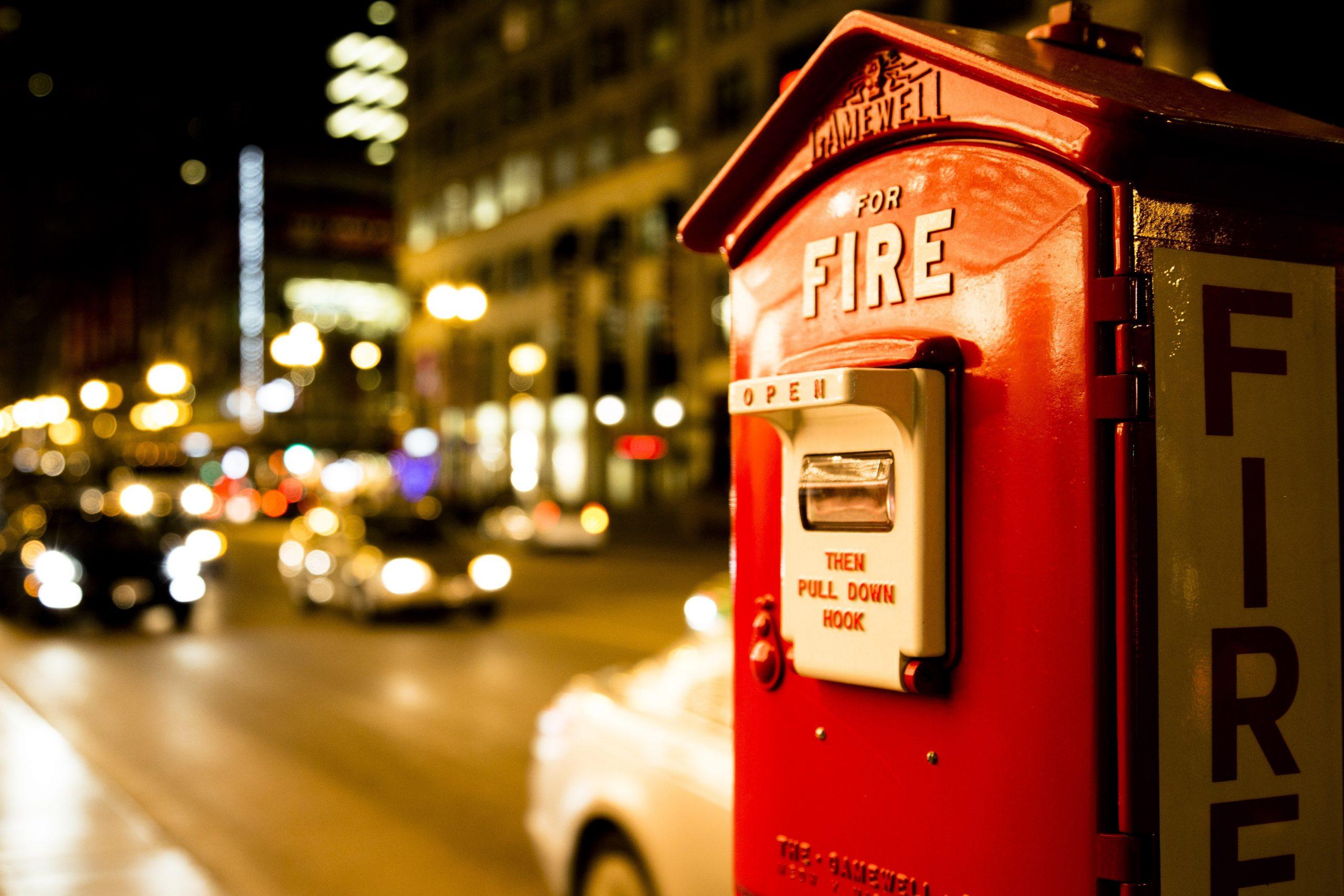התקנות לגבי ציוד כיבוי וגילוי אש